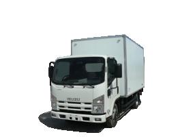 ISUZU ELF 5.2 Промтоварный фургон