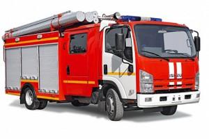 ISUZU ELF 7.5 Пожарная автоцистерна
