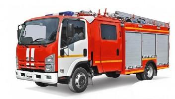 ISUZU ELF 9.5 Пожарная автоцистерна