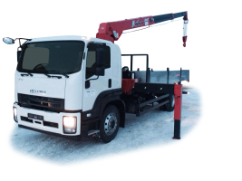 ISUZU Forward 18.0 Бортовой автомобиль с КМУ