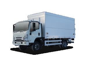 ISUZU ISUZU ELF 7.5 4x4 Промтоварный фургон с трехсторонней загрузкой